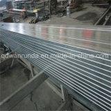 Tubo d'acciaio galvanizzato per Furnitre