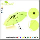 Cremalheira de dobramento do guarda-chuva da cópia do cão da cópia 3 21inch 8K do logotipo de Costume Companhia mini