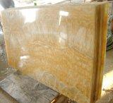 Gootsteen van de Badkamers van de Gootsteen van het Onyx van de Honing van de Fabriek van China de Marmeren