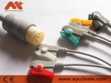 Câble monopièce compatible de Philips ECG