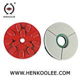 Пластмассовый Бонд алмазные шлифовальные диски для полирования гранита