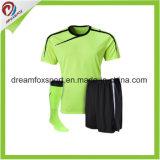 Uniformes sublimados poliester de encargo de calidad superior del fútbol de la camisa del fútbol