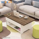 목제 커피용 탁자 현대 디자인, 최신 판매를 위한 상승 커피용 탁자