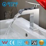 Vanité simple classique en gros by-F8019 de salle de bains en bois solide de type