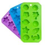 Прессформа кубика льда торта силиконовой резины качества еды