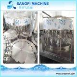 Fregado de las botellas del animal doméstico, relleno y lacre 3 en 1 máquina de rellenar del agua de la bebida de Monoblock