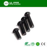 Kohlenstoffstahl-Schwarz-Oxid-Hexagon-Kontaktbuchse-Wannen-Kopf-Maschinen-Schraube