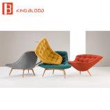 閲覧室のための現代フランス様式の木の肘掛け椅子