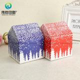 Коробка подарка бумаги Confection формы дома упаковывая