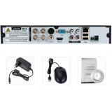 Macchina fotografica Analog 4CH DVR del sistema HD del CCTV di obbligazione di Wdm