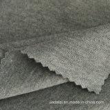 Серый меланж спандекс трикотажные хлопка свитер кофта ткани для колготки