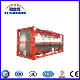 Standard de 20 FT/40FT en acier inoxydable/T11 T14 conteneur ISO de stockage de liquides du réservoir sur la vente