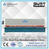 Cisaille hydraulique Swing Beam (QC12K-6 * 5000) avec certification CE et ISO