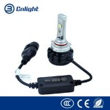 A única lâmpada universal da cabeça do farol do feixe H7 96W para o mercado de acessórios do automóvel parte o jogo dos faróis do carro do diodo emissor de luz