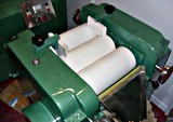 インク顔料の粉砕のための3つのロール製造所の3ローラーの製造所の三倍のローラミル