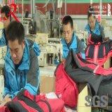 A China vermelha simples com novo design dos homens com Hoody Softshell Jacket (QF-4040)