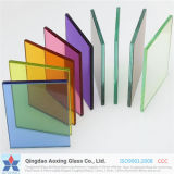 3mm+0.38PVB+3mm에서 19mm+3.04PVB+19mm 장 공간 또는 색깔 박판으로 만들어진 유리