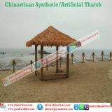 Chaume synthétique de paume normale de regard pour la barre de Tiki/parapluie de plage couvert de chaume synthétique de pavillon de l'eau de maison hutte de Tiki 17