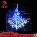 LED IP65 de plein air Ramadan Décoration Motif de pôle de lumière pour la décoration de vacances