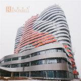 Het veelkleurige Blad van het Aluminium voor het Ziekenhuis dat de Externe Decoratie van de Muur bouwt