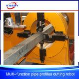 Máquina de estaca fácil do plasma da operação para a tubulação/câmara de ar quadradas sem emenda