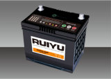 JIS 12V45Ah selladas de plomo ácido libre de mantenimiento de la batería de auto
