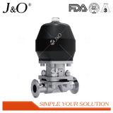 Válvula de diafragma pneumática sanitária quente do aço inoxidável da venda
