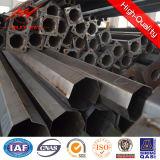 11.88m-462dan galvanisierte Stahlpolen Dienstpole mit Frankreich-Standard