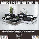 快適な居間の革ソファー(Lz3314)