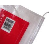 Las bolsas de plástico tejidas PP transparentes de la insignia de la impresión