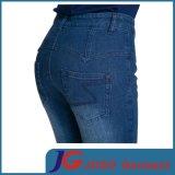 Jeans de denim taille haute femme (JC1346)