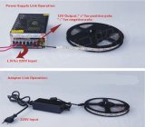 Bunter SMD5050 DC12V/24V RGB/RGBW LED Streifen mit Controller-Adapter
