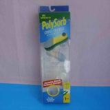 Cadre de empaquetage de PVC de plastique transparent avec le trou de coup