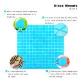 Vidrio manchado de mosaico del material de construcción del ambiente de la ducha fácil del azulejo