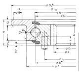 Rothe Erde внутренней шестерни фланцевые подшипники поворотного кольца (232.20.1000.013)