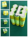 18650 pacchetto della batteria di litio di 12V 5200mAh per l'accumulatore per di automobile di RC