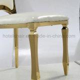 Коммерческие современной мебели из нержавеющей стали модными кожаными банкетный стул (ЛЕВЫЙ-633Y)