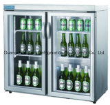 Equipo de supermercados Guangzhou fábrica OEM Hecho en China Tres Glass Door Bar Enfriador