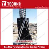 コラムのコンクリートのためのTeconの調節可能なプラスチック型枠