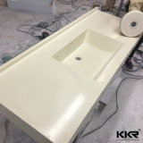 Верхняя часть тщеты ванной комнаты Kkr твердая поверхностная для проекта гостиницы (C1706052)