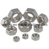 Noix Hex de l'acier inoxydable 304 DIN 934