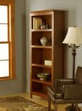 Prateleira de livros em madeira de madeira sólida Wood Bookcase de quarto (GSP9-033)