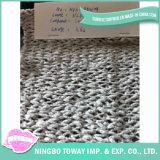 Tecelagem de fios de lã merino fantasia de algodão (HFS-Z110104)