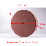"14 ""X2"" 5p Nonwoven Grinding Wheel Nylon Disc Brush"