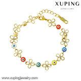 74637 Armband van de Juwelen van de Legering van de Ogen van de manier de Leuke in 14k Geplateerd Goud
