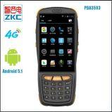 Zkc3503 scanner terminal tenu dans la main de code barres du WiFi PDA d'Andorid de 4 pouces