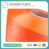 100% hilados textiles 900D Naranja FDY del PP a la torsión con cable