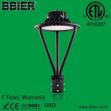 고품질 Dlc 광전지 센서 IP66 30W 50W 75W 100W LED 포스트 톱 라이트