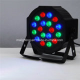 18*1With3W RGB LEDのプラスチックは同価ライト/LED段階ライトの地図をつくる