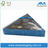 심혼 명확한 플라스틱 Windows를 가진 모양 음식 급료 초콜렛 수송용 포장 상자